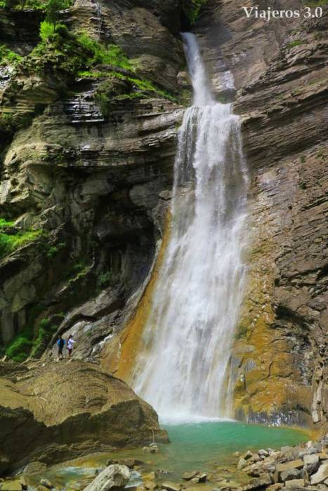 cascada del Sorrosal vía ferrata