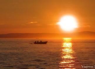 atardecer desde el Órgano del Mar en Zadar