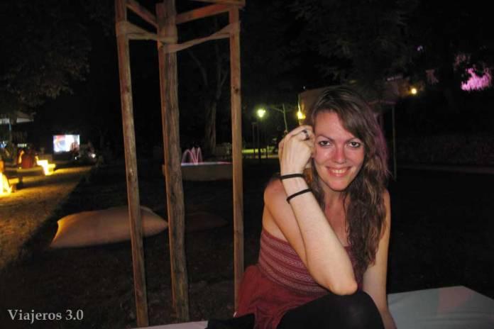 Zadar de noche en el Lounge&Bar Ledana