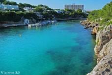 Cala en Blanes, junto a Ciudadela en Menorca