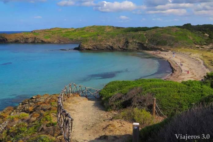 Cala Tortuga, las mejores playas de Menorca