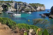 Cales Coves en el sur de Menorca