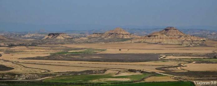 mirador de las Bardenas Reales en Árguedas