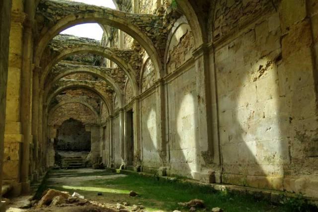 claustro del Monasterio de Rioseco