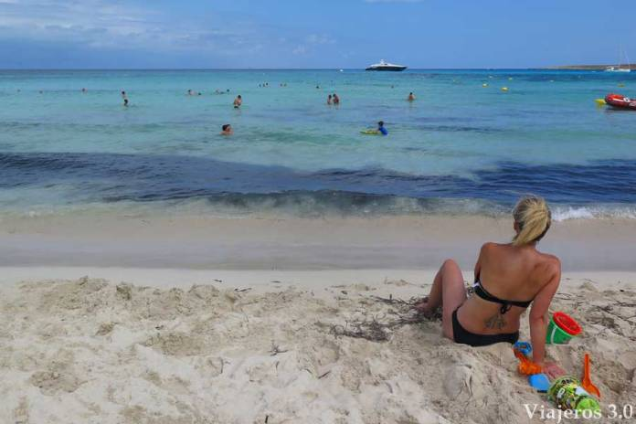 Playa Punta Prima en Menorca