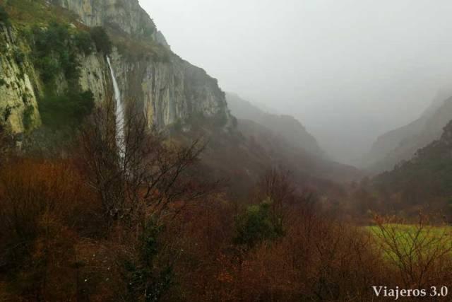 nacimiento del río Asón en Cantabria