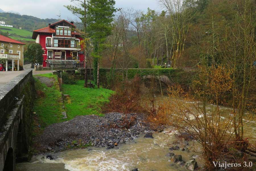 Nacimiento del r o as n la cascada perfecta en cantabria - La casa del puente regules ...