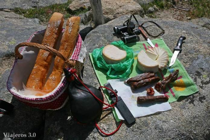 picnic en el Valle del Jerte