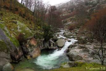 naturaleza en la Garganta de los Infiernos, en pleno Valle del Jerte