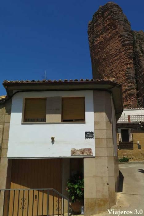 casa Escaleretas en Riglos