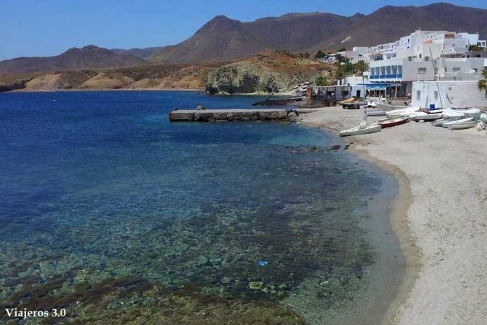Playas de Isleta del Moro en Cabo de Gata