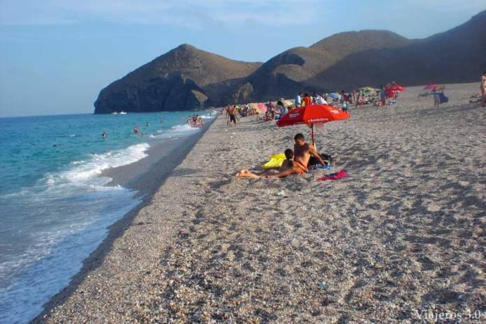 Playa de los Muertos, las mejores playas de Cabo de Gata