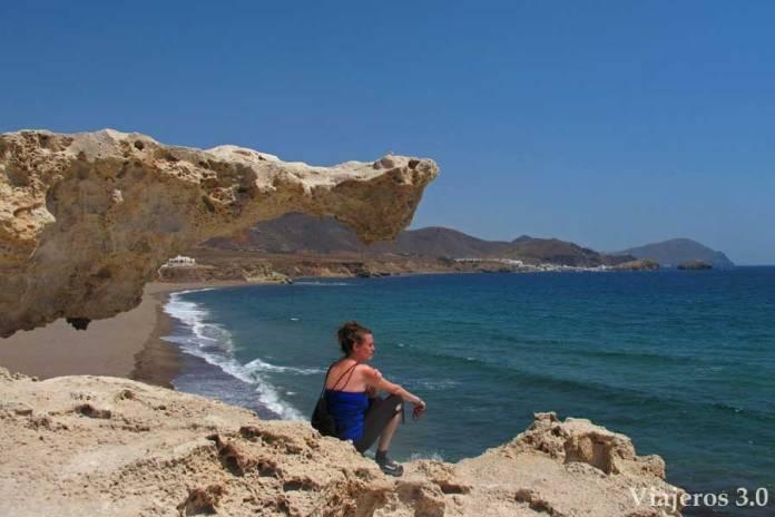 Playa del Arco, una de las playas más bonitas de Cabo de Gata
