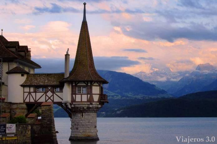 Castillo de Oberhofen, ruta por Suiza en una semana