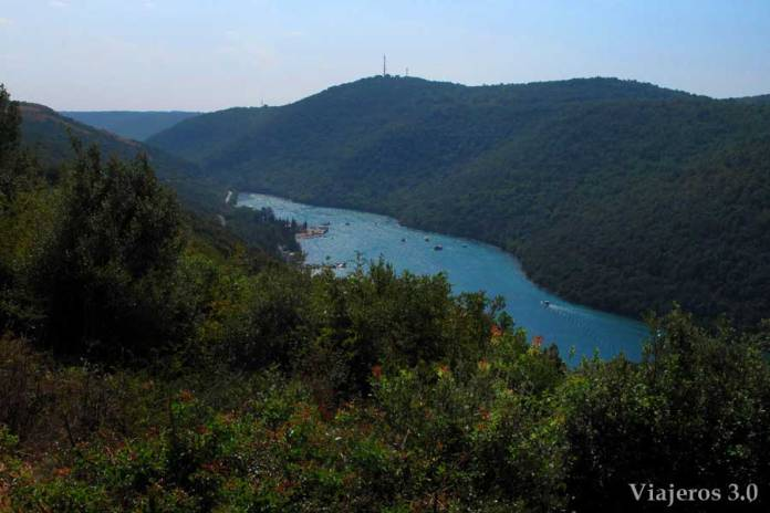 fiordo Lim en Croacia