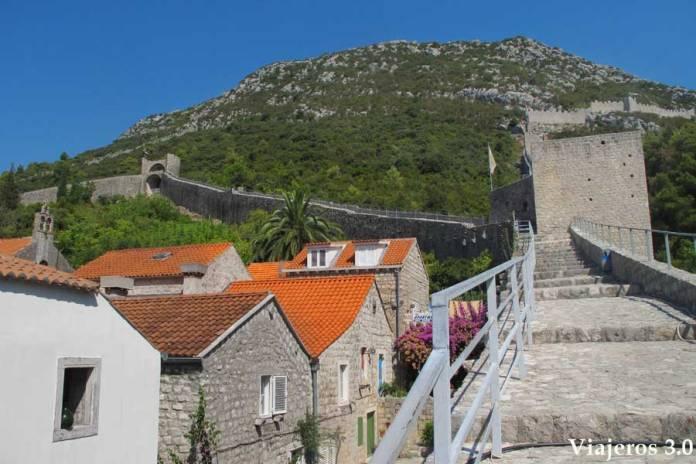 murallas de Ston, ruta por Croacia y Eslovenia