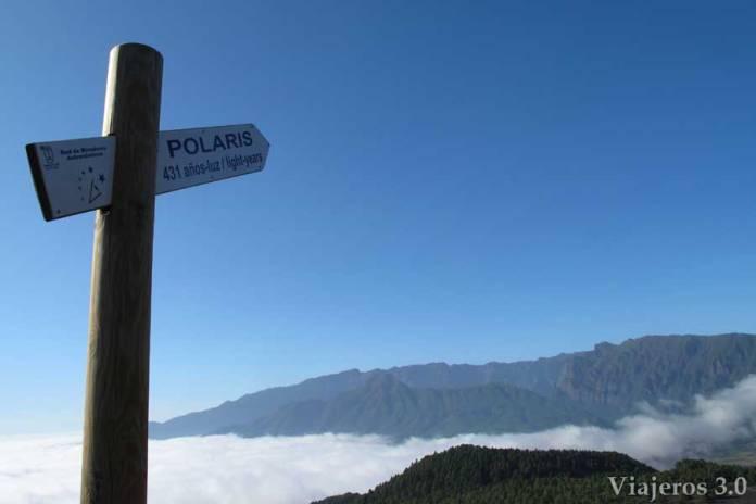miradores astronómicos en La Palma