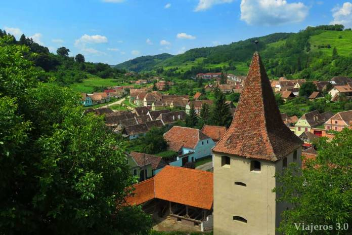 arquitectura de Biertan, viajar a Rumanía