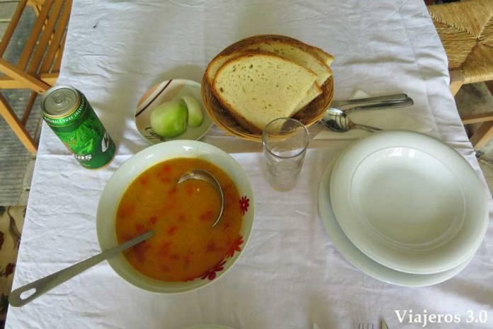 sopas, gastronomía rumana