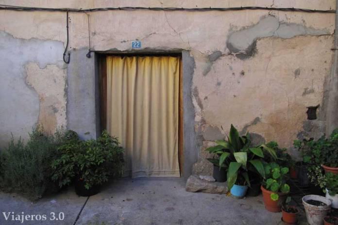 detalle de casa en Garganta la Olla, pueblos de la comarca de la Vera