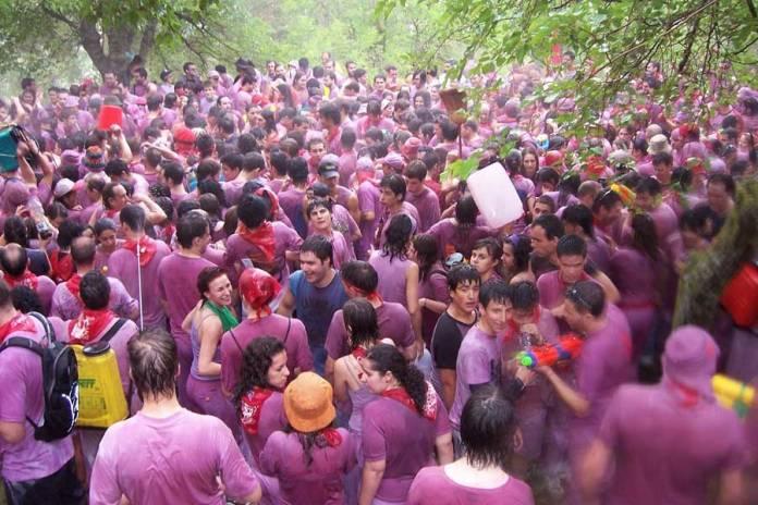 batalla del vino de Haro, lo mejor de La Rioja