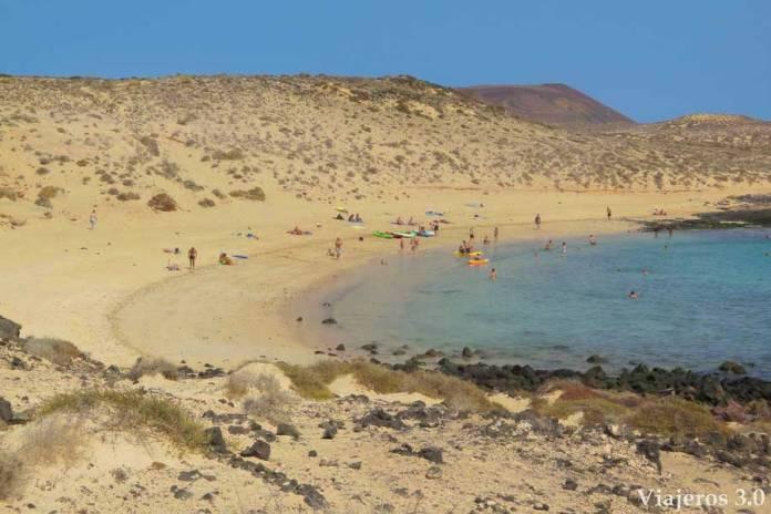 La Francesa, playas de La Graciosa