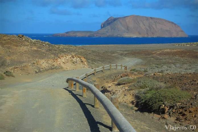 rutas en bicicleta por La Graciosa