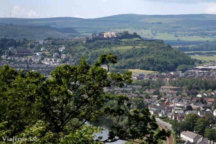castillo de Stirling en ruta por Escocia y las Highlands