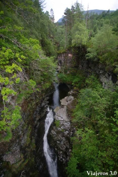 Falls of Measach en ruta por Escocia