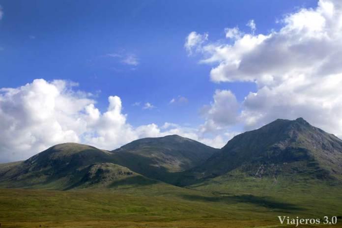 valle de Glencoe, en ruta por Escocia y las Highlands