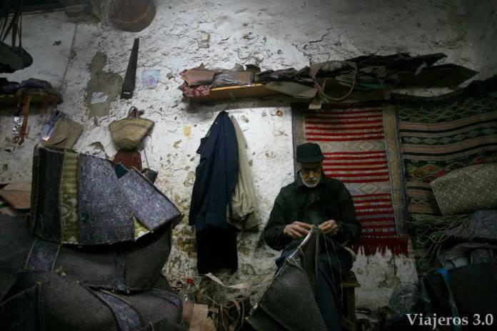 artesanos en La Medina de Fez