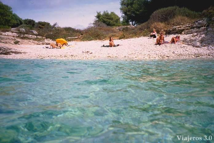 cabo de Kamenjak, playas paradisíacas de Croacia