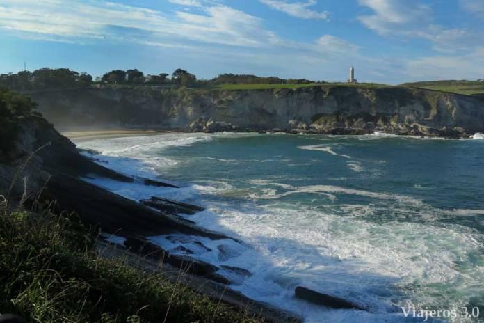 Del Sardinero al Faro de Cabo Mayor en Santander