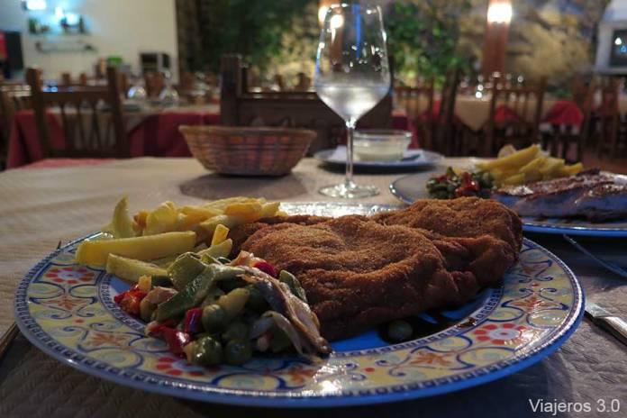 restaurante de Puente Vidosa