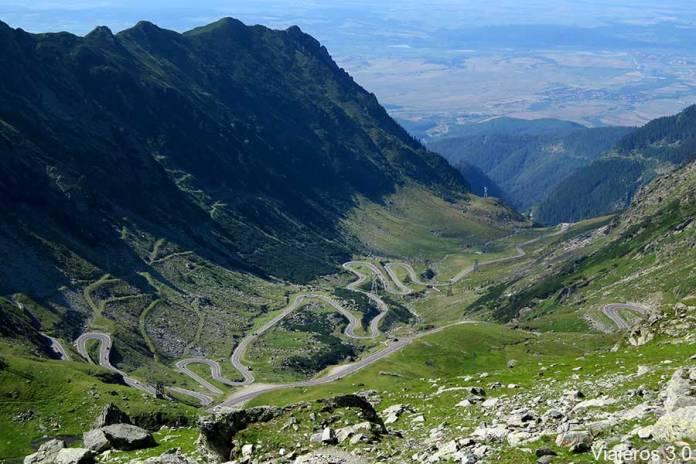 qué ver en la carretera Transfagarasan