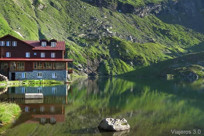 lago Balea en Rumanía