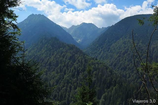 paisajes, qué ver en la carretera Transfagarasan