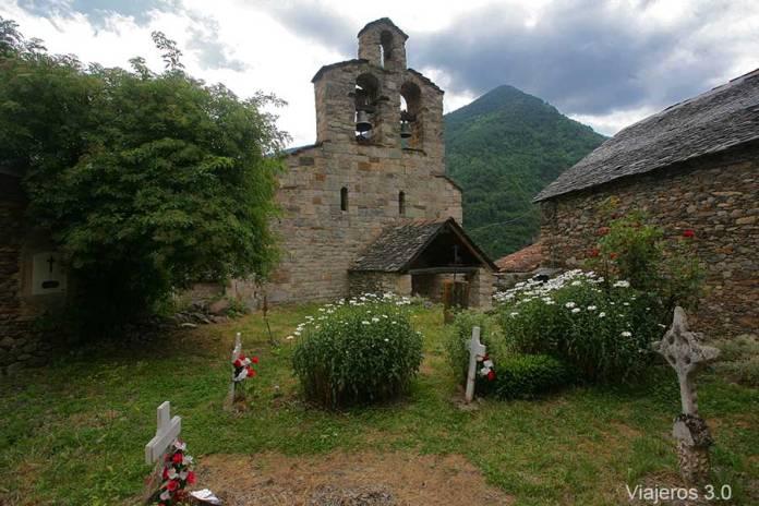 Santa Maria de Cardet, iglesias románicas de La Vall de Boí