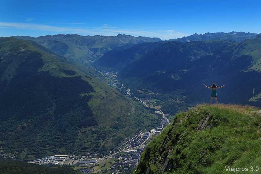 Una semana en el pirineo catal n aig estortes y valle de ar n - Inmobiliaria valle de aran ...
