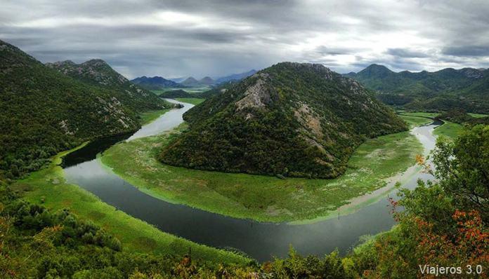viajar a Montenegro: lago Skadar