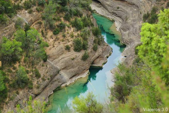 cañón río Alcanadre