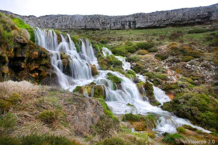 cascada de Villaescobedo, cascadas de Burgos
