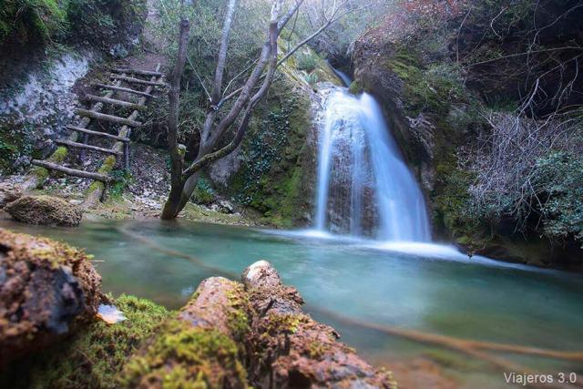 cascada de la Huevera, cascadas de Burgos