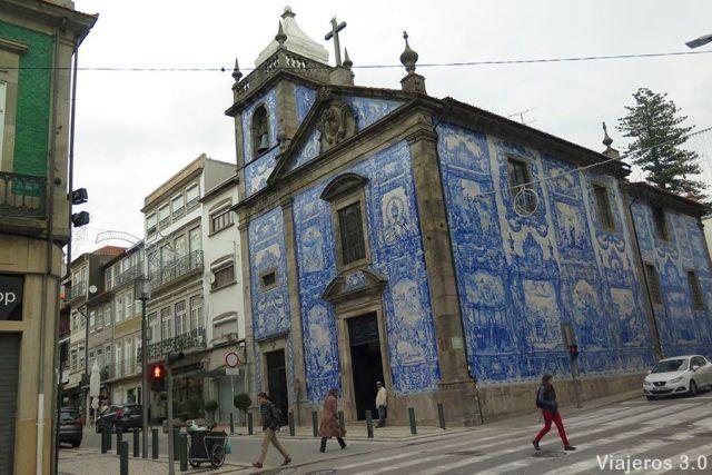 Capilla de las Almas, 2 días en Oporto