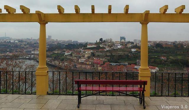 Jardines del Palacio de Cristal, 2 días en Oporto