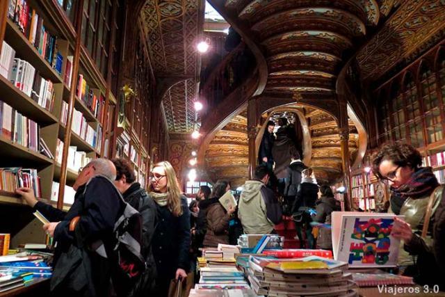 Librería Lello, 2 días en Oporto