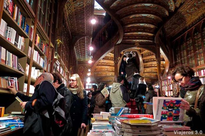 Librería Lello, que hacer y que ver en Oporto