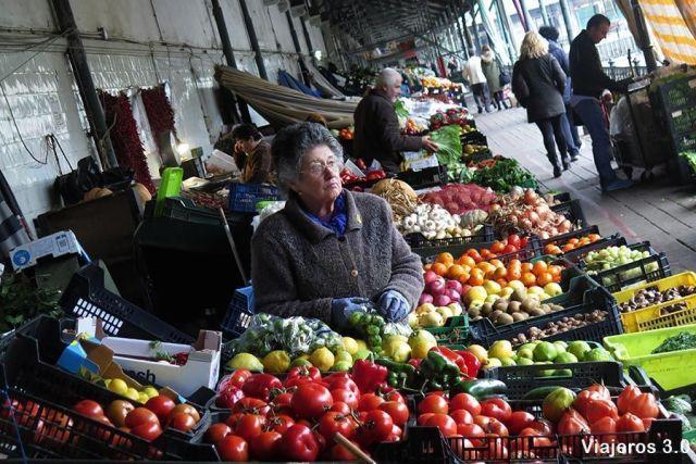 mercado de Bolhao, 2 días en Oporto