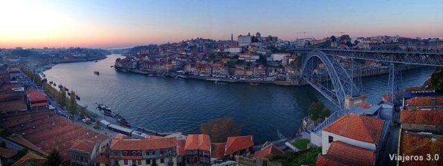 puente de don Luis I, dos días en Oporto