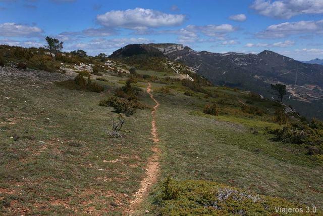 ruta de senderismo Canales de Madrid, Valle de las Caderechas